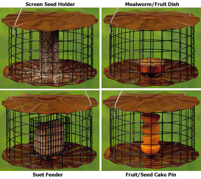 Erva Caged Barrier Guard Multi Feeder
