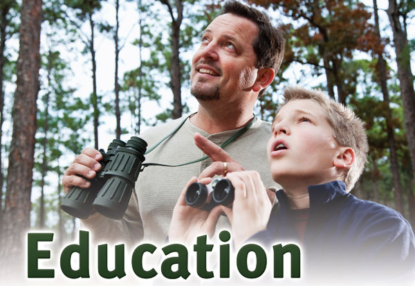 Nature Education For Kids and the Young at Heart!