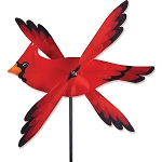 Cardinal Whirligig Wind Spinner Small