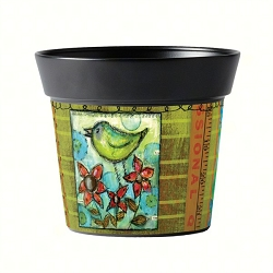 Studio M 6 Inch Art Pot Today is the Day