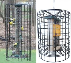 Retrofit Bird Feeder Squirrel Cages