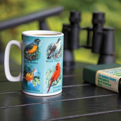 North American Singing Songbird Mug