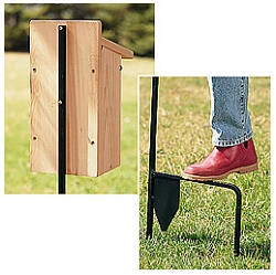 Step-In Bluebird House Pole 2-Piece