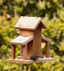 Town & Country Feed & Seed Mill Hopper Bird Feeder