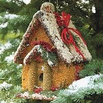 Holiday House Edible Birdhouse