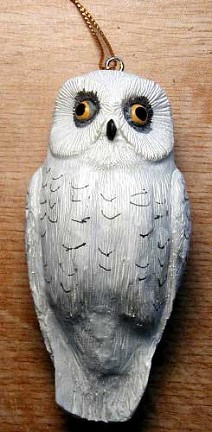 Snowy Owl Ornament
