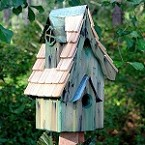 Boyds' Bungalow Birdhouse Green