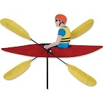 Kayak Whirligig Wind Spinner Large
