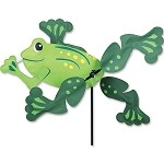 Frog Whirligig Wind Spinner Large