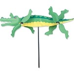 Alligator Whirligig Wind Spinner Large