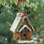Holiday Cottage Edible Birdhouse