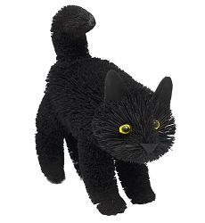 Brushart Black Cat Standing 9