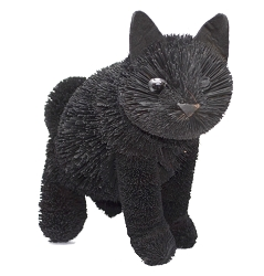 Brushart Black Cat Sitting 12