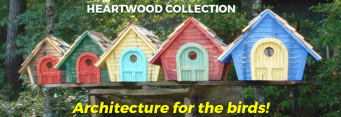 Heartwood Birdhouse and Bird Feeder Collection