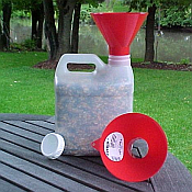 Bird Seed Storage & Dispensers