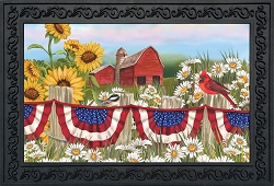 Briarwood Lane America The Beautiful Doormat