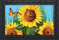 Briarwood Lane Sunflower Field Doormat
