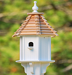10 Inch Blue Bird Birdhouses