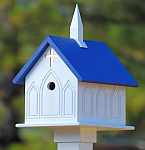 Church Birdhouses & Bird Feeders