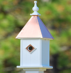 6 and 8 Inch Blue Bird Birdhouses