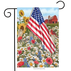 Briarwood Lane America The Beautiful Garden Flag