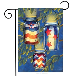 Briarwood Lane Patriotic Luminaries Garden Flag