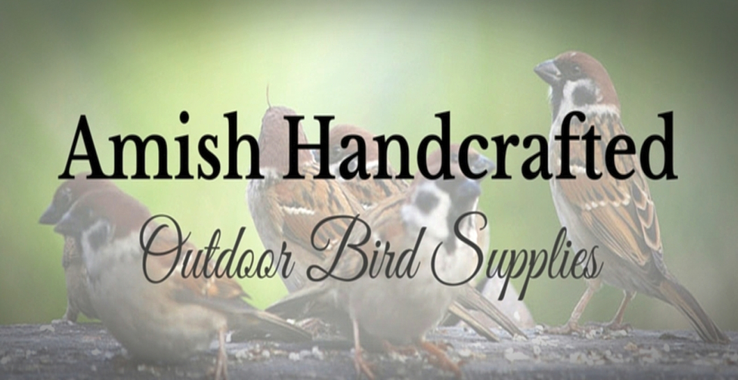 Amish Recycled Poly Bird Houses and Bird Feeders