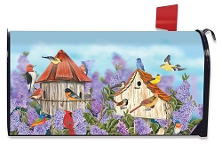 Briarwood Lane Birds and Lilacs Mailbox Cover