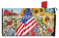 Briarwood Lane America The Beautiful Mailbox Cover