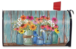 Briarwood Lane Farm Fresh Flowers Mailbox Cover