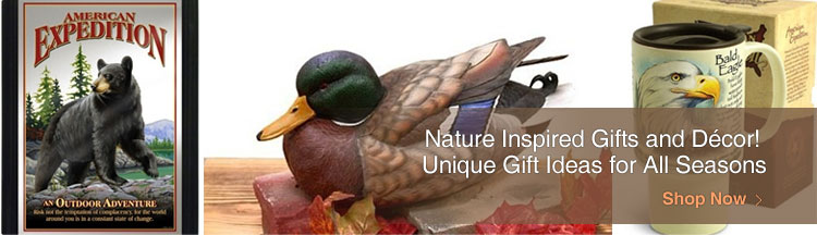 Nature Inspired Gifts and Decor