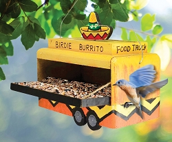 Birdie Burrito Food Truck Feeder