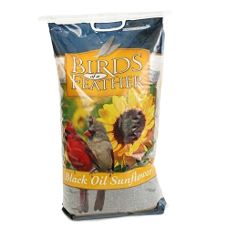 Birds of a Feather Black Oil Sunflower Seed 40#