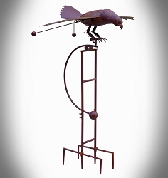 Rocking Jumbo Eagle Kinetic Garden Stake 76