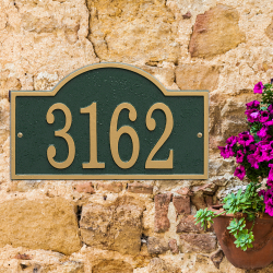 Fast & Easy House Numbers Plaque