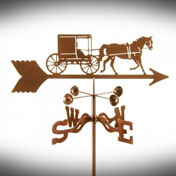 Amish Horse and Buggy Weathervane