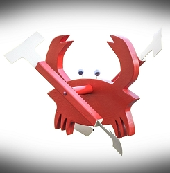 Whirly Bird Crab Spinner