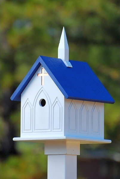 12 Quot Church Birdhouse