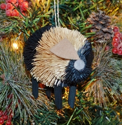 Brushart Pig Ornament