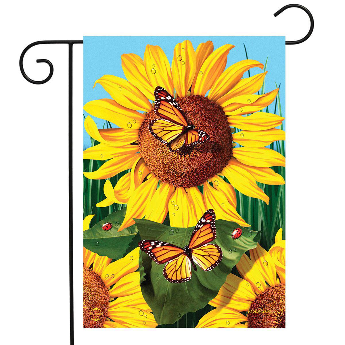 Briarwood Lane Sunflower Field Garden Flag