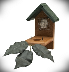 Amish Recycled Poly Hummingbird Nest House