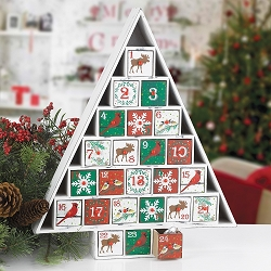 Rustic Woodlands Advent Calendar