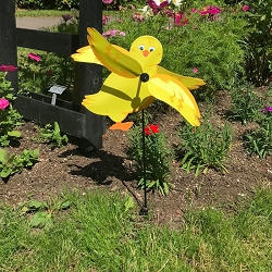 Baby Chick Whirligig Wind Spinner
