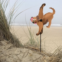 Baby Puppy Whirligig Wind Spinner