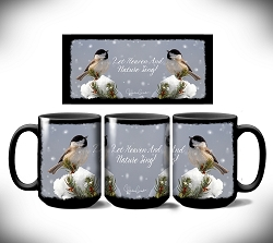 Heaven and Nature Sing Coffee Mug 15 oz. Set of 2