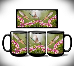 Summer Song Coffee Mug 15 oz. Set of 2