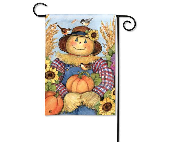 Happy Harvest Garden Flag