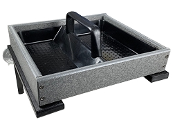 Recycled Poly Window Platform Feeder Gray