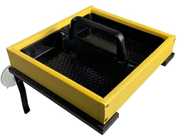 Recycled Poly Window Platform Feeder Yellow