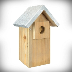 Rustic Series Galvanized Weathered Bluebird House